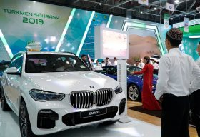 Global Automakers Show Off Their Looks at Turkmenbashi Auto Show
