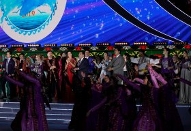 First Caspian Economic Forum Finalized With Gala Concert