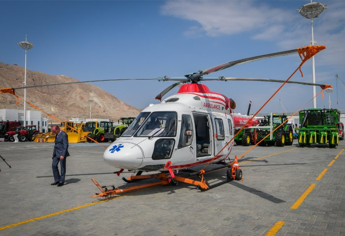 Kazan Helicopter Plant to Deliver Medical Helicopters to Turkmenistan